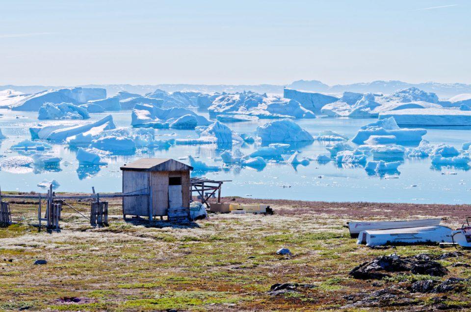 Icebergs devant Saqqaq