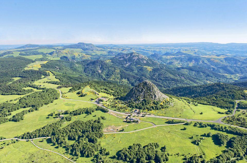 Drôme et Ardèche vues du ciel