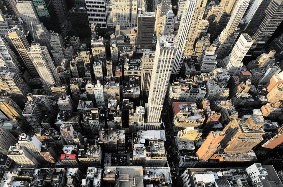 Plongée sur New York