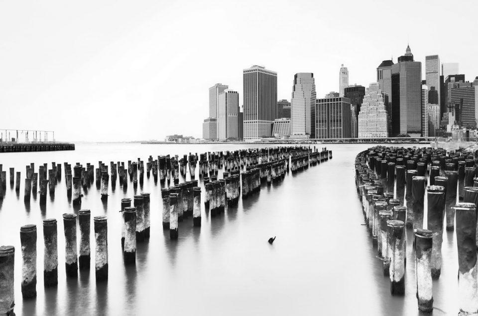 Manhattan depuis Brooklyn Bridge Park