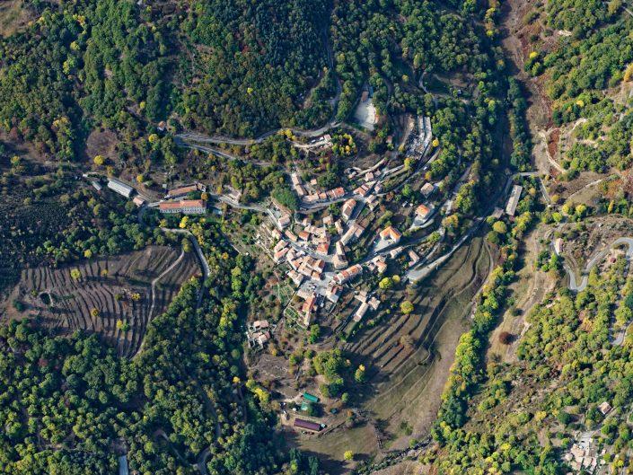 Ardèche vue du ciel